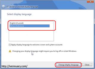 Cara Merubah Bahasa Windows 7 ke Bahasa Indonesia